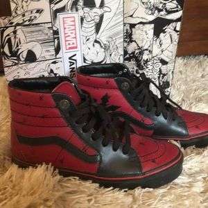 Limited Edition Van shoes Marvel Deadpool